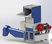 Моющая дробилка для ПЭТ PZO-800 DMS-DLS Подольск