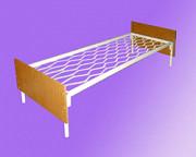 Кровати на стальном каркасе прочные Нижнекамск