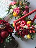Мужские букеты Тюмень, съедобные букеты, букеты из фруктов Тюмень