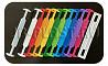 Пластиковые ручки для картонных коробок, сборные двухэлементные ручки с ответной частью в наличии доставка из г.Москва